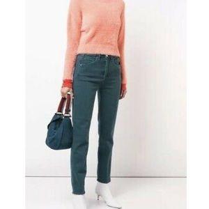 McGuire Vintage Slim Green Straight Leg Jeans 29